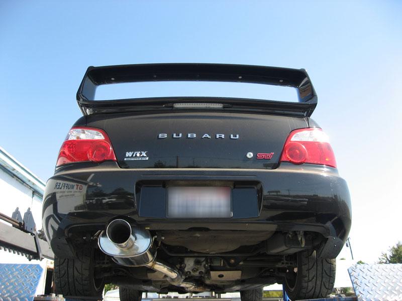 Typere Style Srs Subaru Impreza Wrx Sti 0206 Catback Exhaust System Burned Tip: 06 Impreza Exhaust At Woreks.co